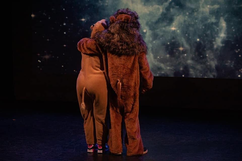 Theater Trots speeld Leeuwenkoning in podium zuidheage regiesseur Karin Tromp